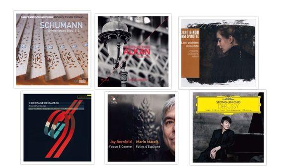 Actualité du disque : Schumann, Alkan, Crumb...