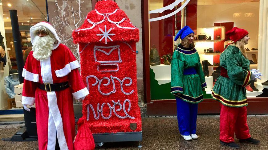La boîte aux lettres du Père Noël est rue Gutenberg pour dix jours