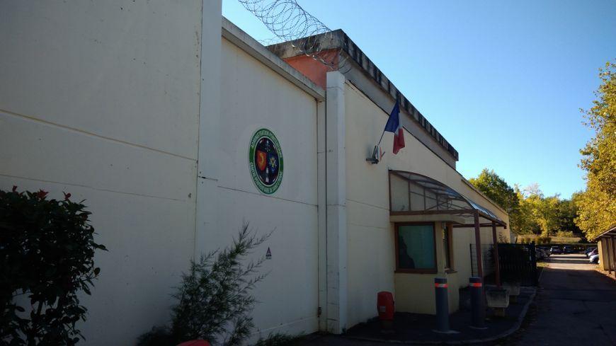 L'actuelle maison d'arrêt de la Talaudière (Loire).