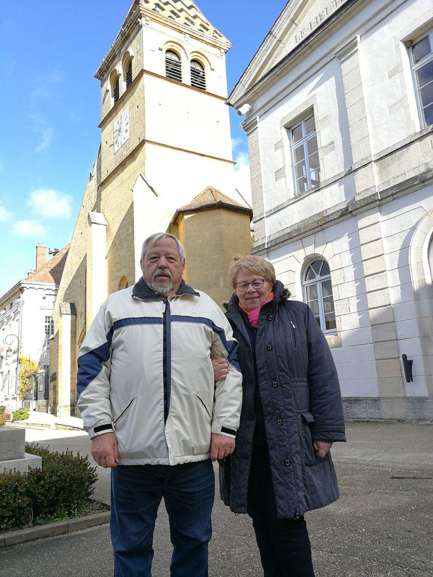 Jean-Pierre et Christine Marcel