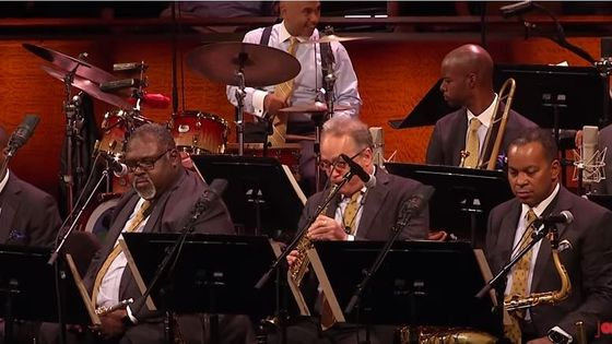 The Jazz At Lincoln Center Jazz Orchestra Wynton Marsalis