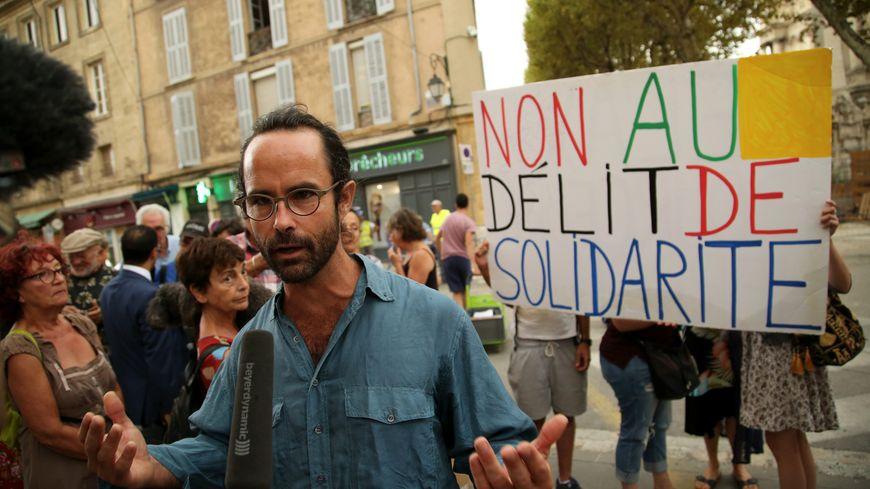 Cédric Herrou défenseur des migrants