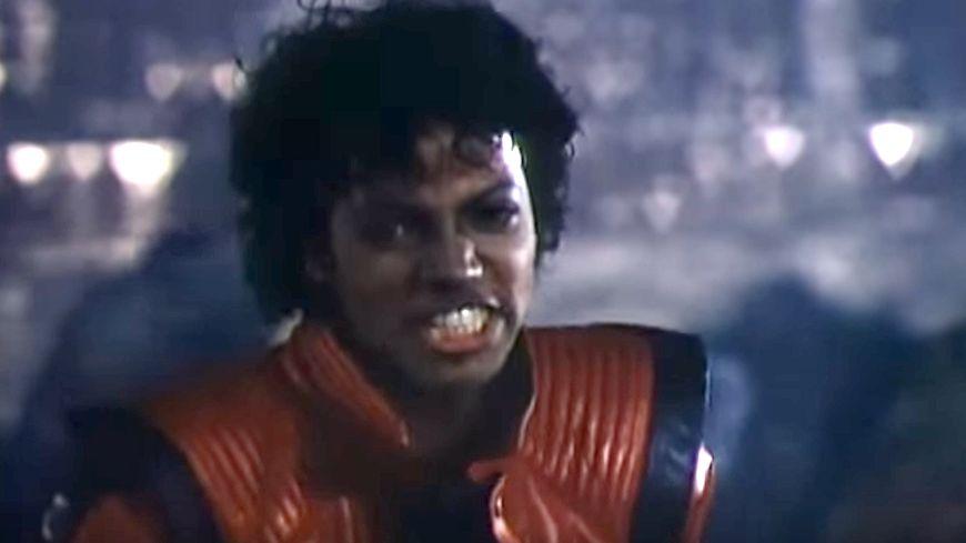 Mickaël Jackson dans Thriller