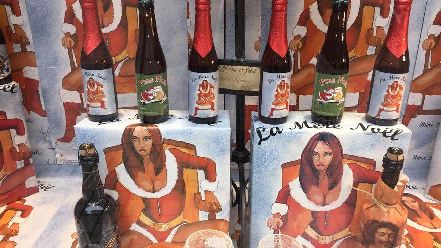 Les bières de Noël sont arrivées à la boutique du Village de la bière à Strasbourg