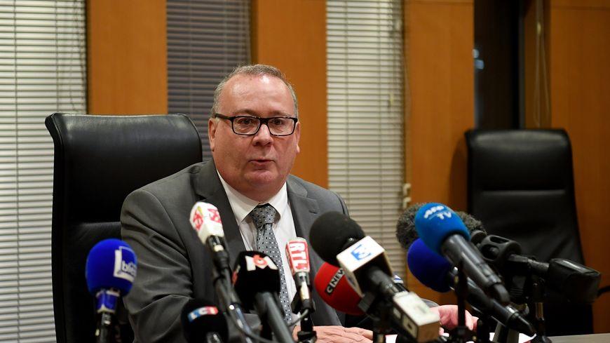 Jean-Yves Coquillat, procureur de la République de Grenoble, le 30 novembre 2017