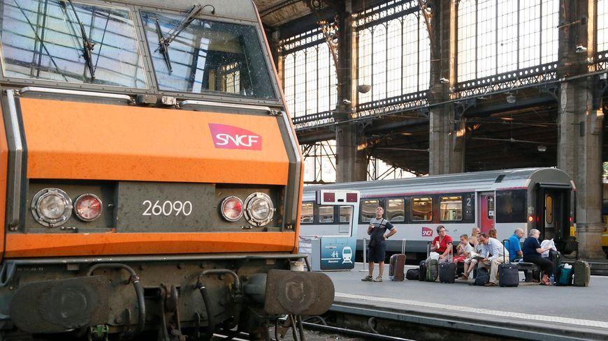 Intercité en gare d'Austerlitz