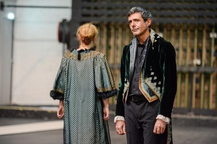 Dom Juan, répétition, mise en scène de Marie-José Malis