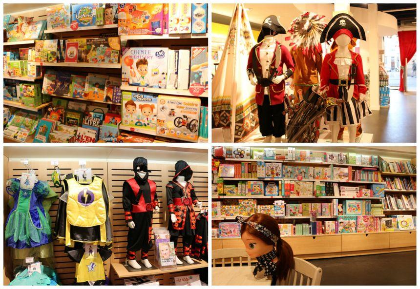Chez Oxybul, des déguisements de pirates et ninjas pour garçons et filles