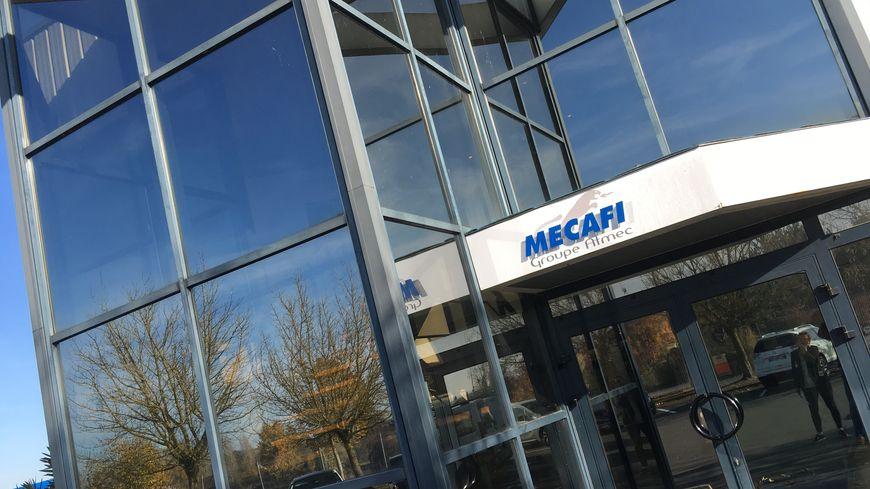 Le siège de Mécafi à Châtellerault.