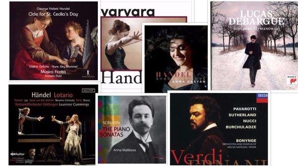 Actualités du disque : Haendel, Szymanowski, Verdi