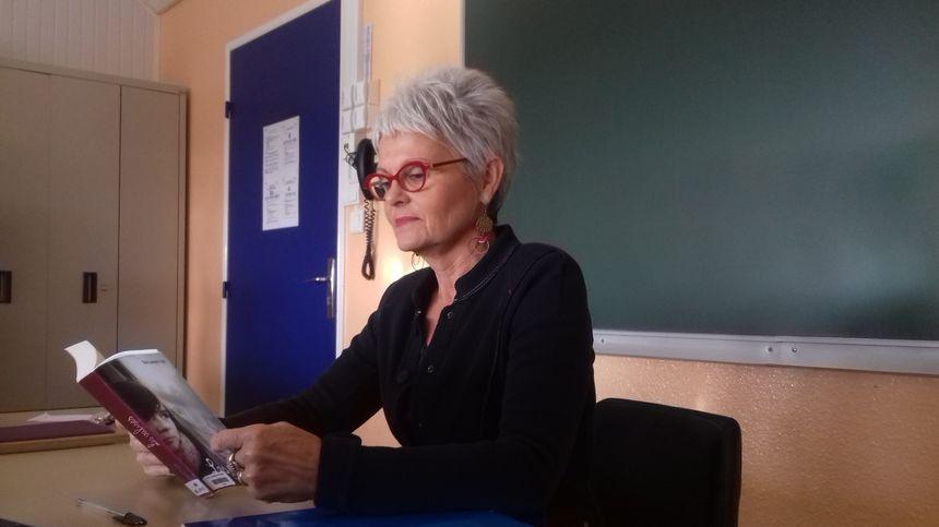 Michèle Lambert, principale du collège d'Archiac