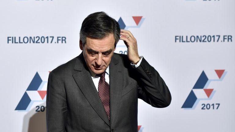 François Fillon lors de la campagne présidentielle 2017
