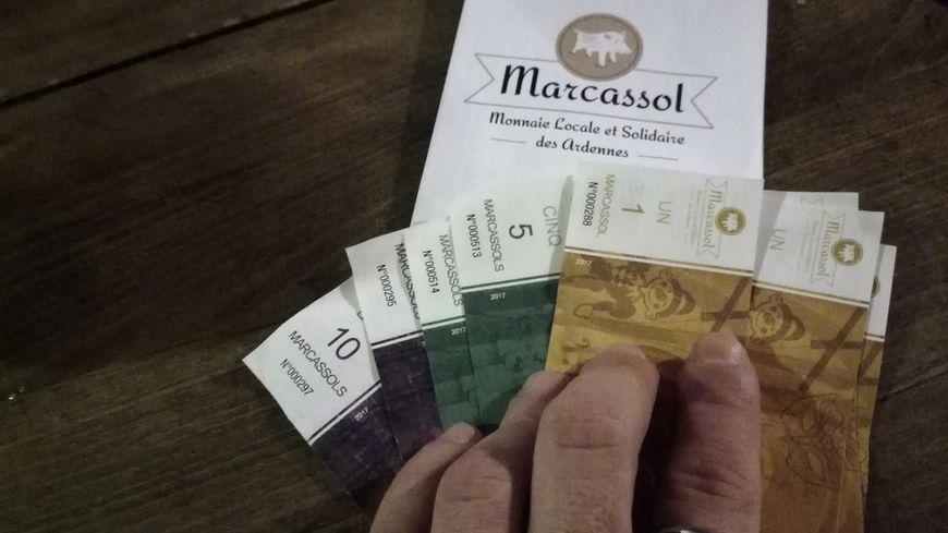Les marcassols , la monnaie locale ardennaise