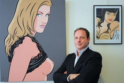 Gregory Dorcel, 9 septembre 2009 à Paris