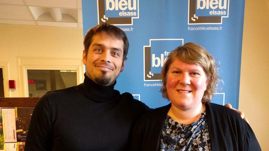 Aude Martz et Pierre Nuss