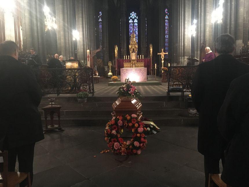 30 novembre 2017, le dernier hommage à l'écrivain Jean Anglade en la cathédrale de Clermont-Ferrand