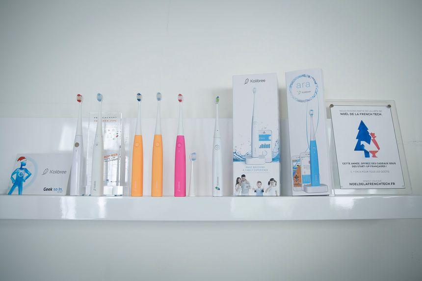 Des brosses à dents connectées