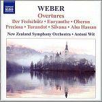 Weber - Overtures - New Zealand Symphony Orchestra- Antoni Wit