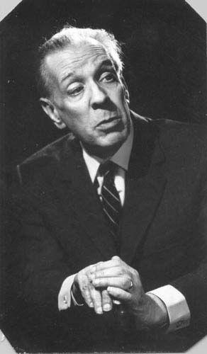 Borges, en 1976.
