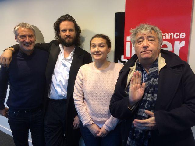 Antoine de Caunes, Father John Misty, Charline Roux et Jean-Yves Lafesse