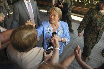 michelle bachelet largement en tête du second tour de la présidentielle chilienne © reuters