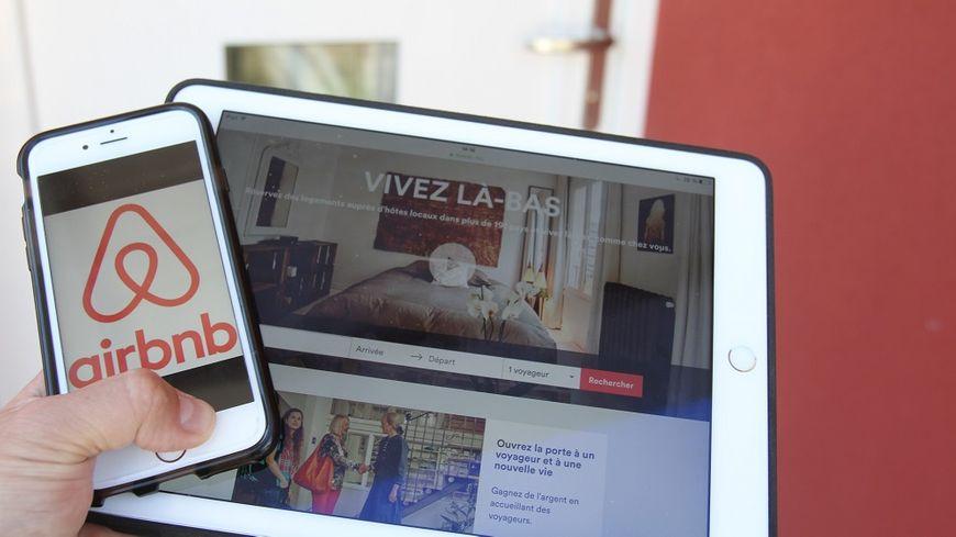 La plateforme Airbnb permet de louer des logements entre particuliers.