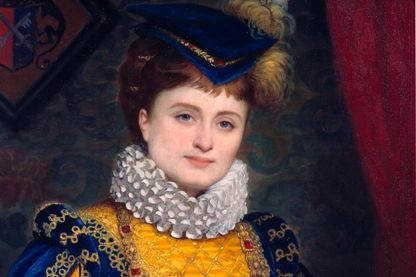 Hortense Schneider (1833-1920), toile d'A.J. Pérignon