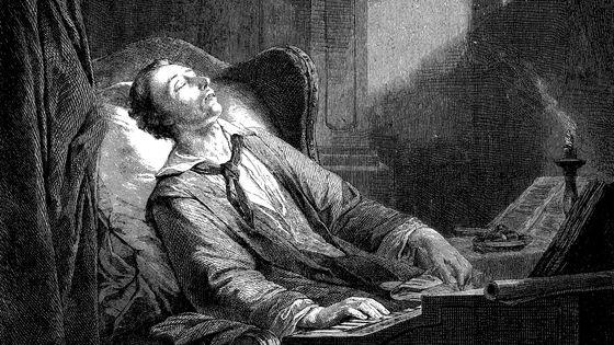 Gravure sur bois du compositeur Carl Maria von Weber