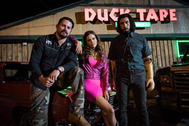 """Channing Tatum, Riley Keough et Adam Drive dans """"Logan Lucky"""" de Soderbergh"""