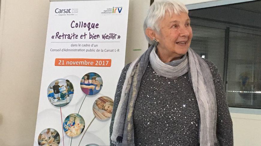 Hélène Carré, l'une des testeuse de l'application M@Carsat.