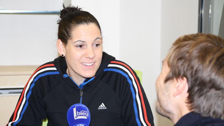 La Gantoise Alexandra Lacrabère championne du monde de handball.