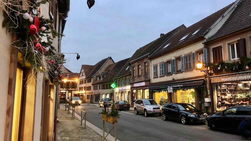 Diemeringen, la Grand Rue