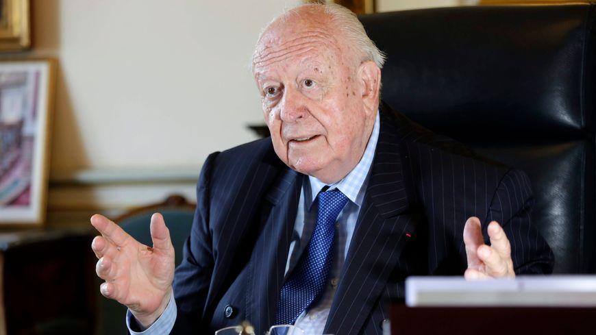 Jean-Claude Gaudin, maire de Marseille
