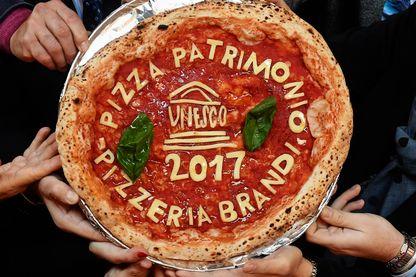 La pizza napolitaine fait désormais partie du patrimoine immatériel de l'UNESCO