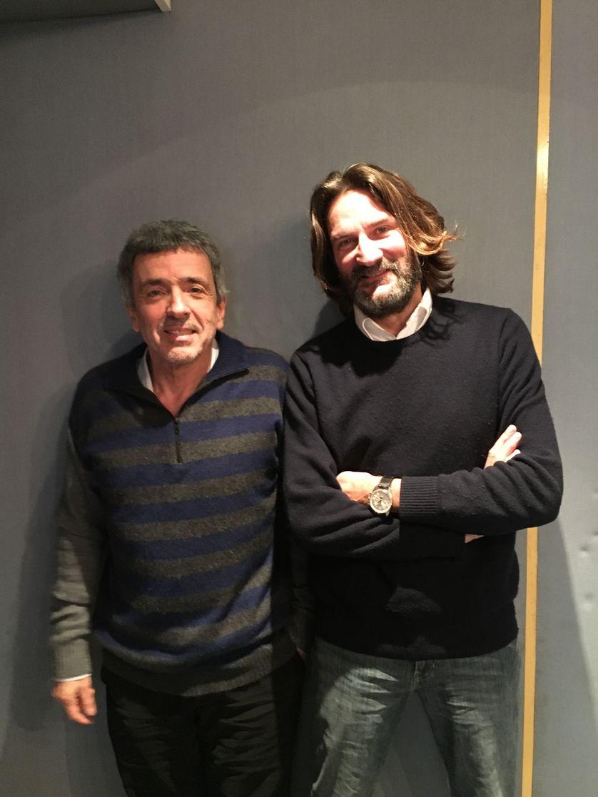 Régis Jauffret et Frédéric Beigbeder
