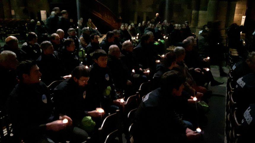 Les agriculteurs se recueillent à la cathédrale de Metz en mémoire de leurs collègues disparus