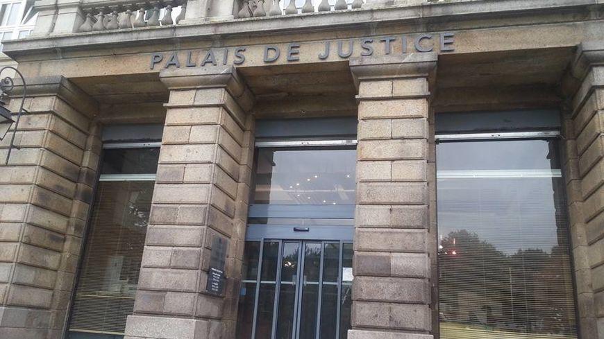 Le palais de justice de Saint-Brieuc