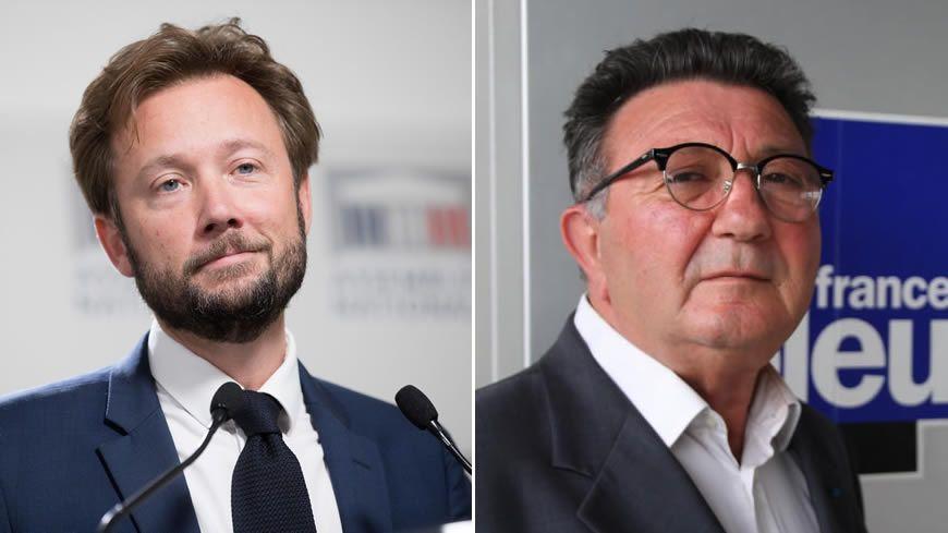 L'élection de Boris Vallaud (à gauche) dans la troisième circonscription des Landes est définitivement validée