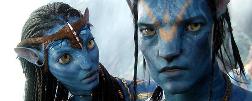 Habitants de la planète Pandora dans le film Avatar