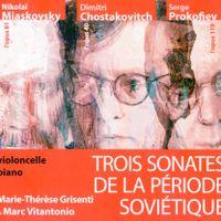 Sonate n°2 pour violoncelle et piano en la min op 81 : 1. Allegro moderato