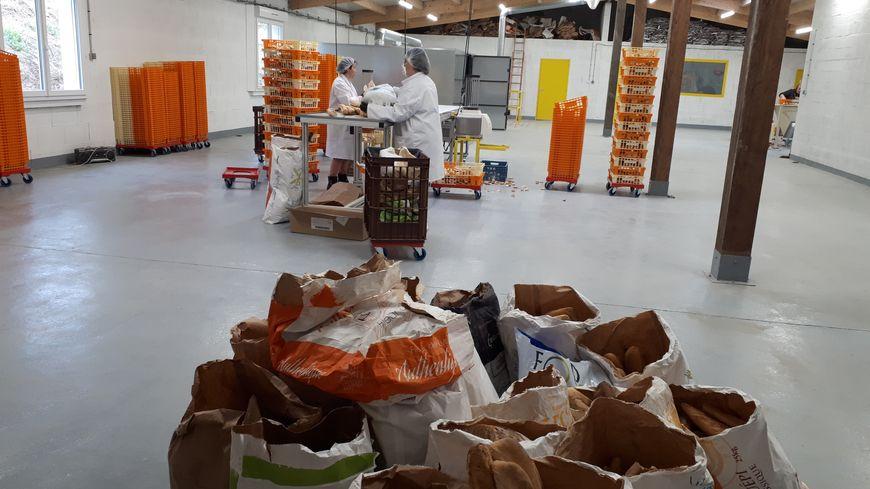 L'association Cipres a investi 300 000 euros pour créer un atelier de transformation du vieux pain en chapelure animale.