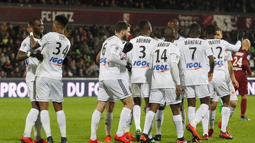 Parmi les victoires de l'Amiens SC il y a celle acquise contre Metz