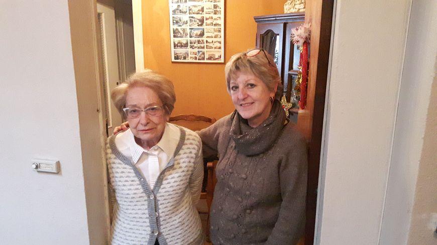 La plaignante âgée de 88 ans et sa fille