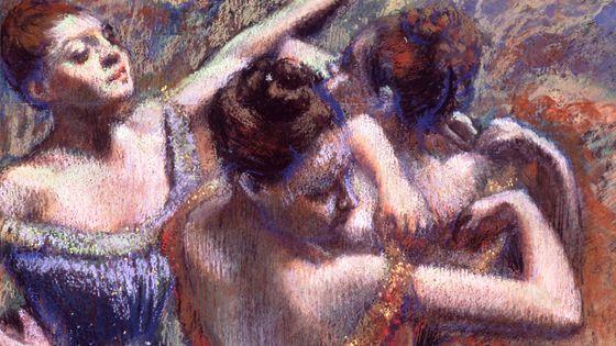 """""""Les danseuses"""", Edgar Degas, 1899."""