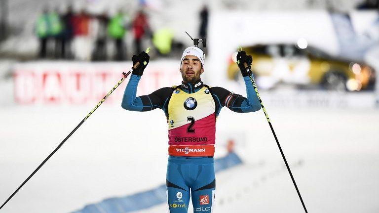Martin Fourcade s'est offert la poursuite à Östersund