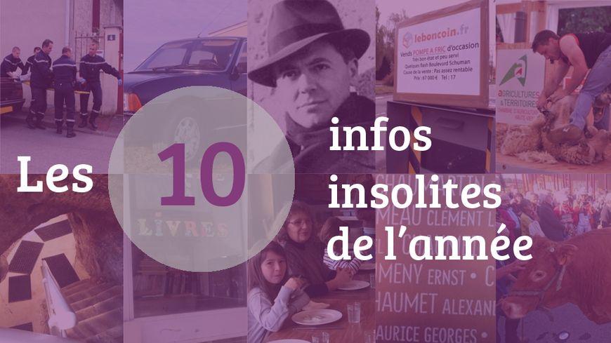 Les dix infos insolite de l'année 2017 en Limousin