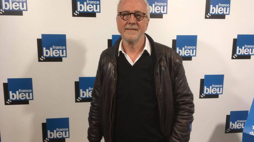 Jacques Rousselot dans les studios de France Bleu Lorraine