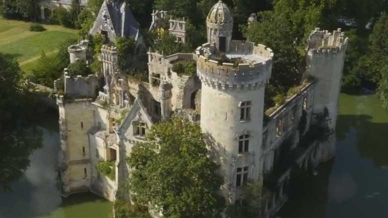 Le fameux château qui a fait craquer plusieurs dizaines de milliers d'internautes