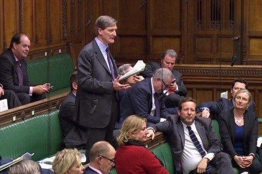 Le député conservateur Dominic Grieve s'est rebellé, hier, à la Chambre des communes à Londres, contre la Première ministre britannique Theresa May