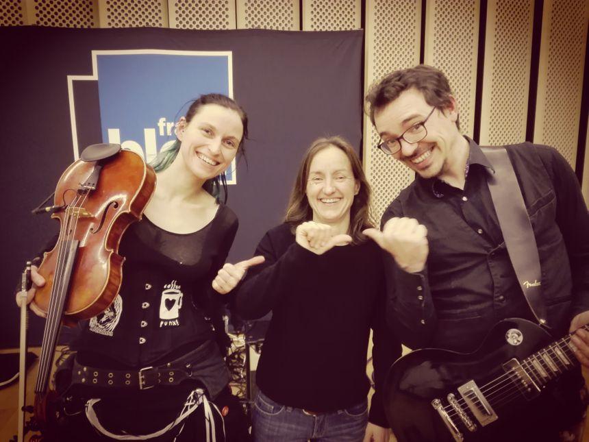 Lyllou, Frédérique Gissot et Renaud Druel